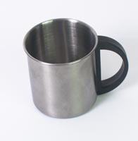 Metal coffee cup - 8cm