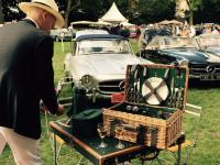 Old timers giant picnic in the Chantilly Castle Sept 2015