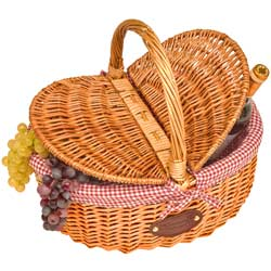 "Wicker basket ""Campagne"""