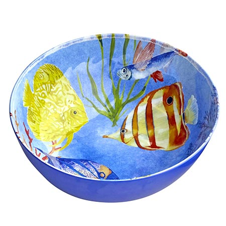 Salad Bowl in melamine - Marine