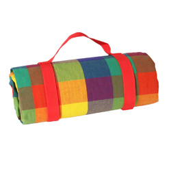"Waterproof picnic blanket ""Multicolor"" (140 x 140 cm)"