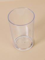 Acrylic water glass - 20 cl