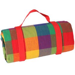 "Waterproof picnic blanket ""Multicolor"" XXL (280 x 140 cm)"