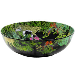 Large Salad Bowl - 100% melamine - 31 cm - Jungle