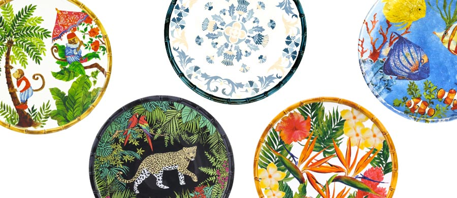 Large Dinner Plate in melamine 27 cm