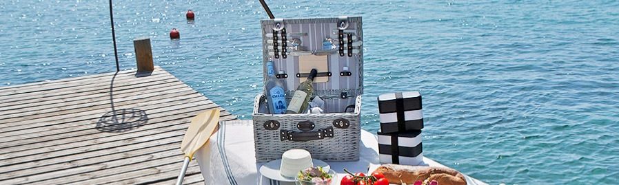 Our picnic basket Castelnaud for 4 on the sea
