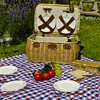 Trocadéro picnic basket for 4 people