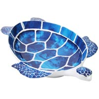 Tropical Blue Turtle Dish