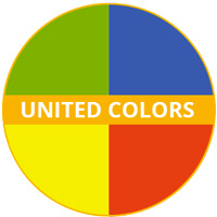 United Colors Theme Melamine tableware