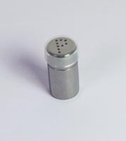 Steel pepper shaker